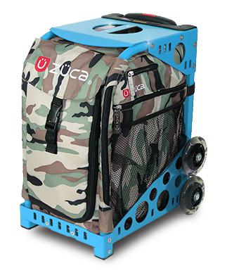 【ZUCA】ZUCA Sport Insert Bag Camo & ZUCA Sport Frame Blue