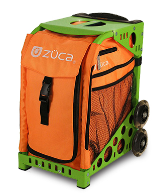 【ZUCA】ZUCA Sport Insert Bag Caution & ZUCA Sport Frame Green
