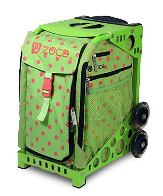 【ZUCA】ZUCA Sport Insert Bag Spotz & ZUCA Sport Frame Green