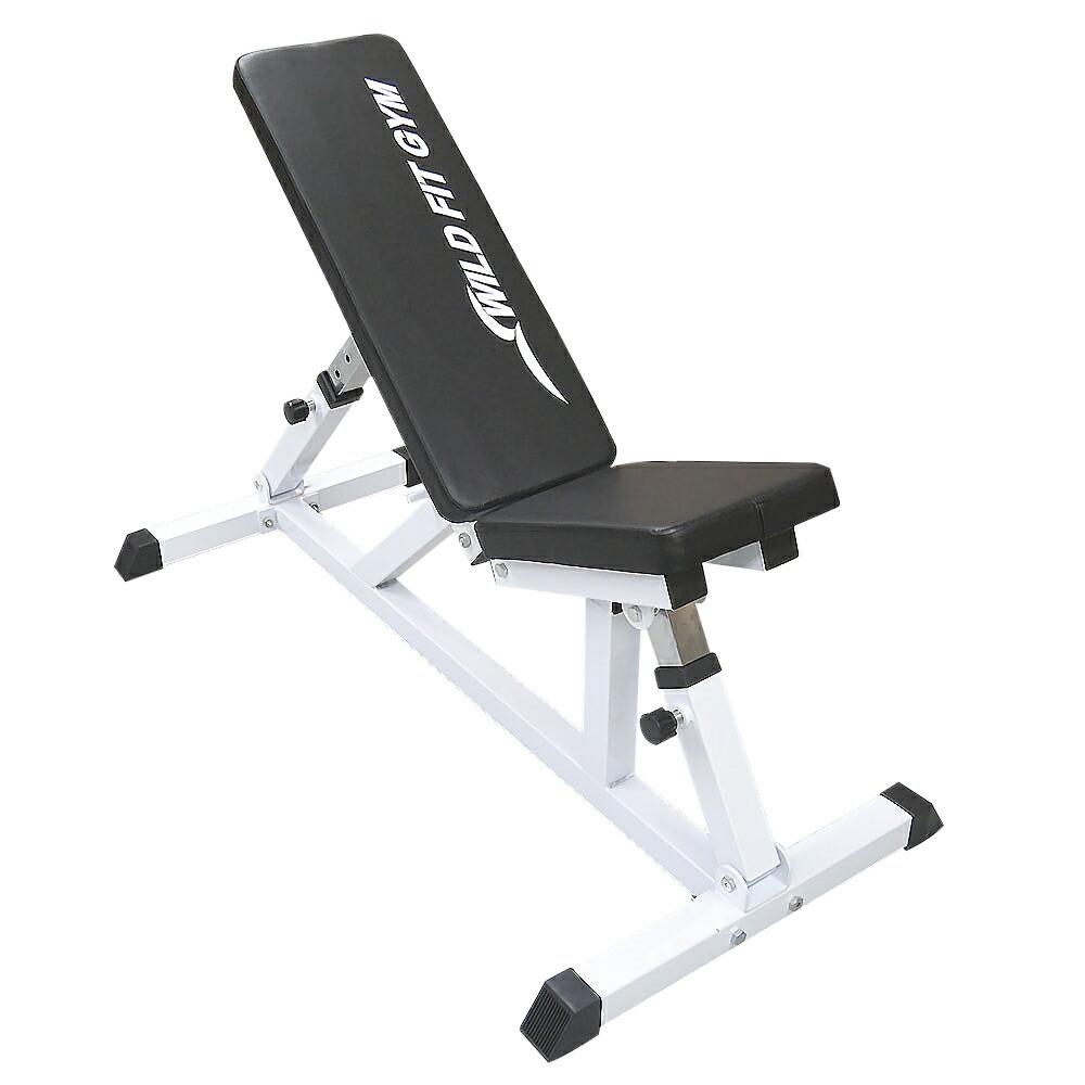 ハイパーベンチ[WILD FIT ワイルドフィット] 送料無料 トレーニングマシン 自宅 筋トレ 腹筋 胸筋 レッグ