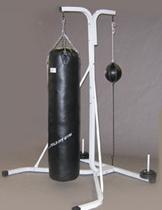 Yベースサンドバッグセット Φ40X100cm 黒(代金引換不可商品)[WILD FIT ワイルドフィット]自宅 中身 安定性 筋トレ 重さ 送料無料 ボクシング キックボクシング