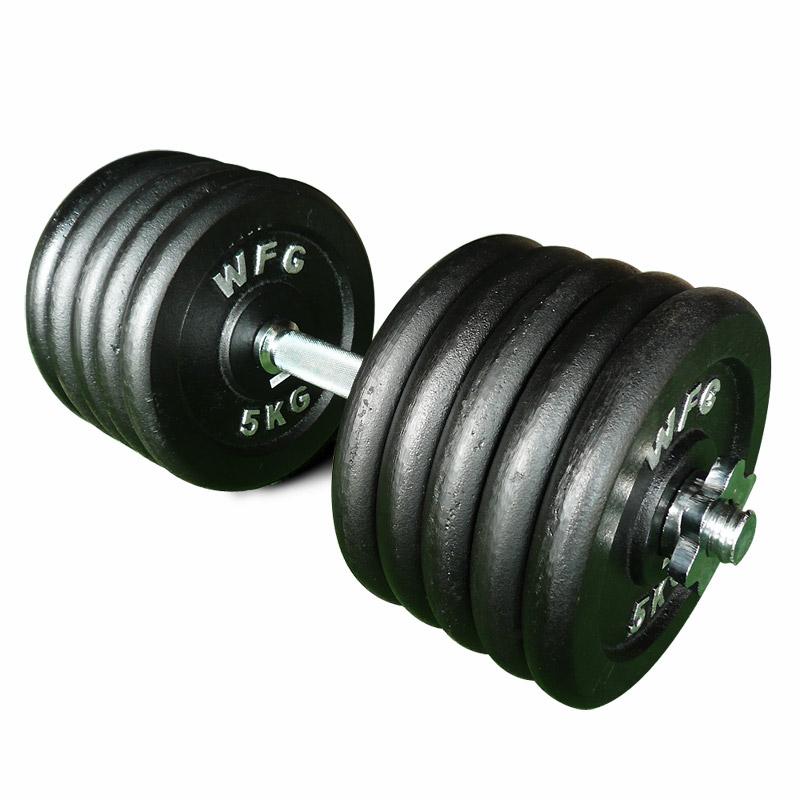 ダンベル52kgセット[WILD FIT ワイルドフィット] 送料無料 筋トレ ダンベル ウエイト トレーニング 鉄アレイ