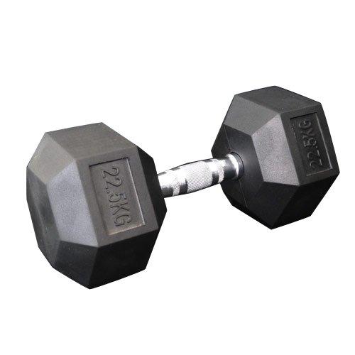 固定式六角ダンベル22.5kg[WILD FIT ワイルドフィット] 送料無料 ダンベル バーベル ウエイト 筋トレ トレーニング 腹筋 背筋 ベンチプレス ジム