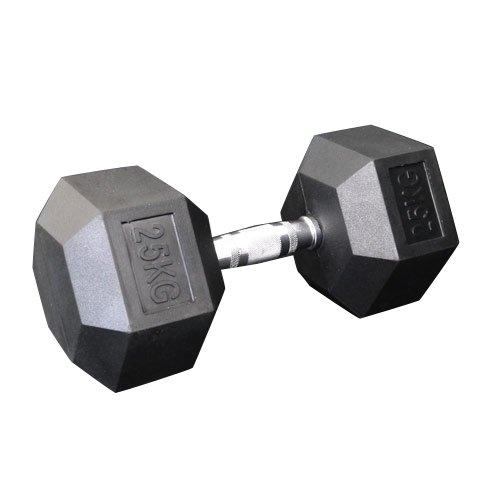 固定式六角ダンベル25kg[WILD FIT ワイルドフィット] 送料無料 ダンベル バーベル ウエイト 筋トレ トレーニング 腹筋 背筋 ベンチプレス ジム