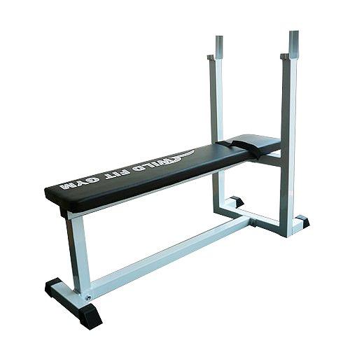 トレーニングベンチ[WILD FIT ワイルドフィット] 送料無料 筋トレ ベンチプレス 腹筋 胸筋 自宅 トレーニングマシン