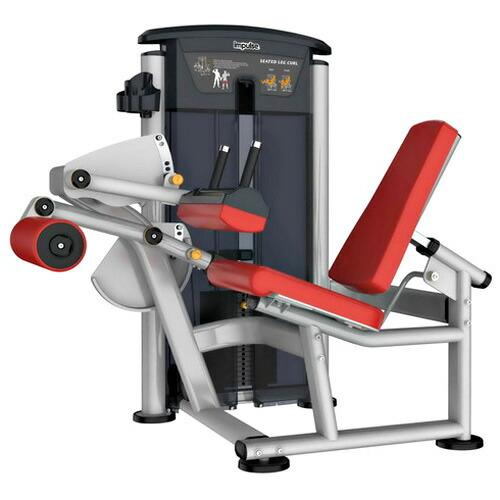 【送料無料】シーテッドレッグカール(235ポンド)《impulse/インパルス》ダンベル・トレーニングマシン・筋トレ・格闘技用品のワイルドフィット