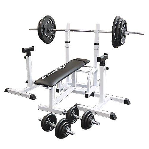フォールディングジムセット アイアン140kg[WILD FIT ワイルドフィット] 送料無料 バーベル ダンベル ベンチプレス トレーニング器具 大胸筋 腹筋 上腕筋