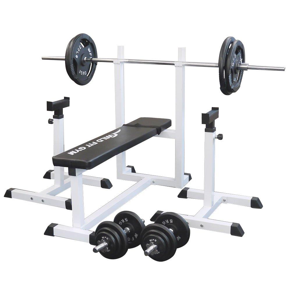 39ショップ ポイント3倍 BCAA 300g 付き トレーニングジムセット アイアン 100kg WILD FIT ワイルドフィット 送料無料 バーベル ダンベル ベンチプレス トレーニング ウエイト プレート 大胸筋 腹筋 上腕筋 フィットネス