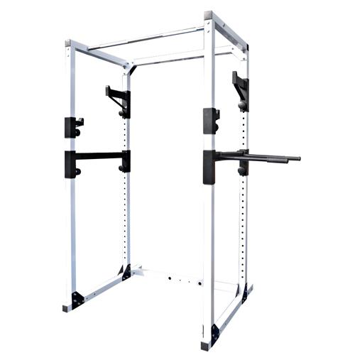 パワーラックPRO ワイド[WILD FIT ワイルドフィット] 送料無料 自宅 スクワット ベンチプレス バーベル トレーニングマシン チンニング ディップス スポーツ器具