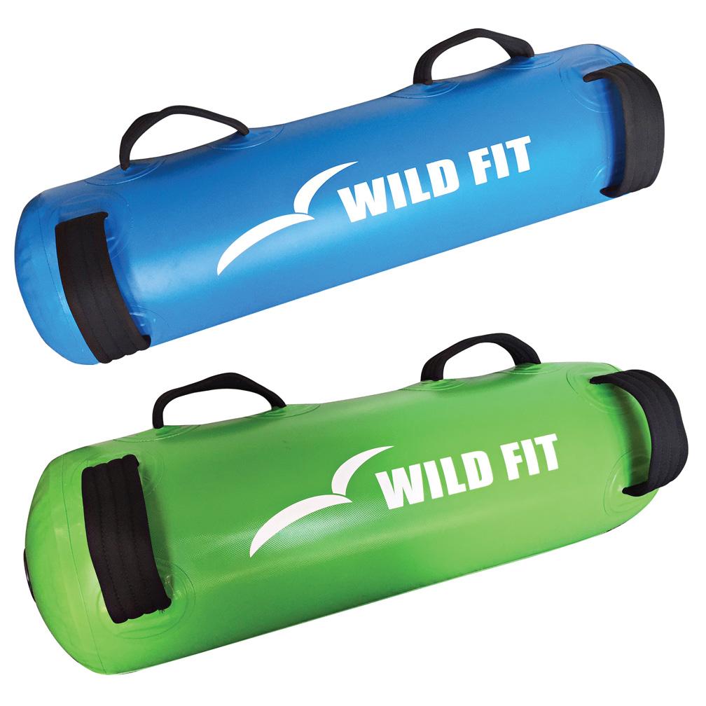 ウォーターバッグ 2本セット(専用水栓コック・空気ポンプ付)[WILD FIT ワイルドフィット] 体幹 筋トレ 送料無料 アクアバッグ ウエイト トレーニング ラグビー アメフト