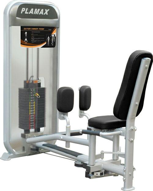 【送料無料】インナーアウターサイ(250ポンド)≪impulse/インパルス≫[WILD FIT ワイルドフィット]ジム スタジオ プロ 本格的 トレーニングマシン フィットネス