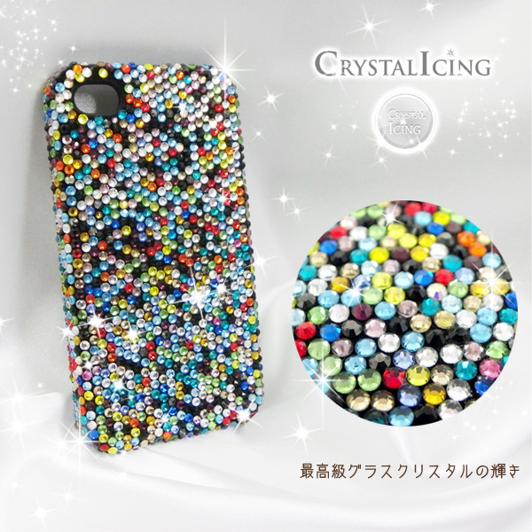 info for e2239 9c453 Lux Mobile Confetti, Crystal Case for iPhone 4 / 4 s case confetti Rainbow  Rainbow, confetti, confetti クリスタルアイシング Crystal Icing ...