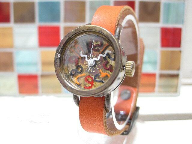 時計作家によりひとつひとつ手作業で作り上げられたアンティーク調 ハンドクラフトウォッチ