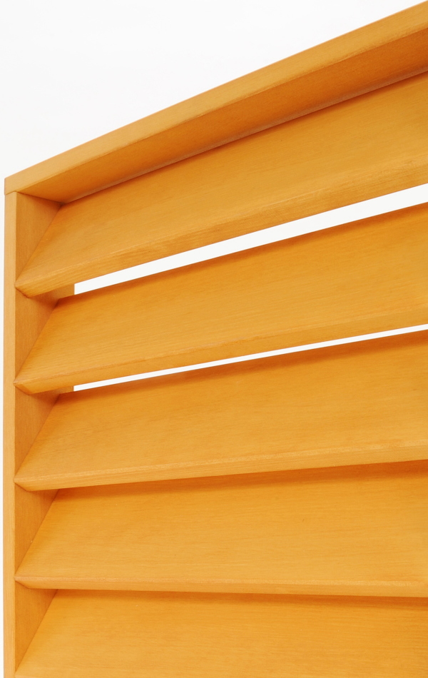 ルーバーラティスフェンス匠(目隠し)パイン色・木製(高さ+横幅=合計120cm以内)