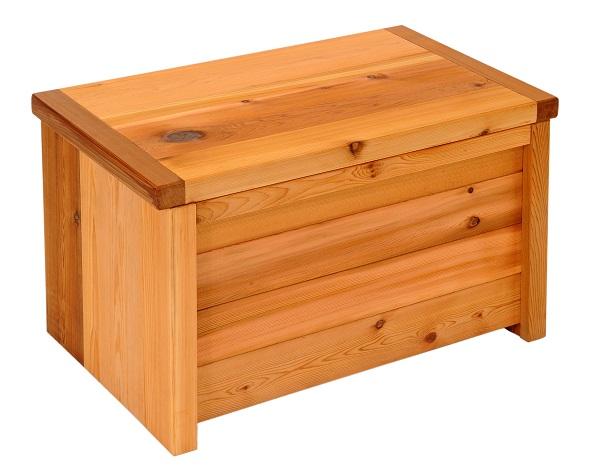 レッドシダー製 収納ボックス付きベンチ 横幅63cm 板厚32ミリ! 完成品 日本製 無垢・天然木製 ストッカー 収納庫 送料無料