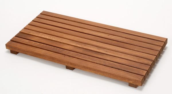 ウッドデッキ匠 すのこデッキ 30cm×60cm×厚み4cm:6枚セット(色:チーク)【ベランダ 天然木製 ウッドパネル ベランダガーデン おしゃれ 日本製 送料無料】