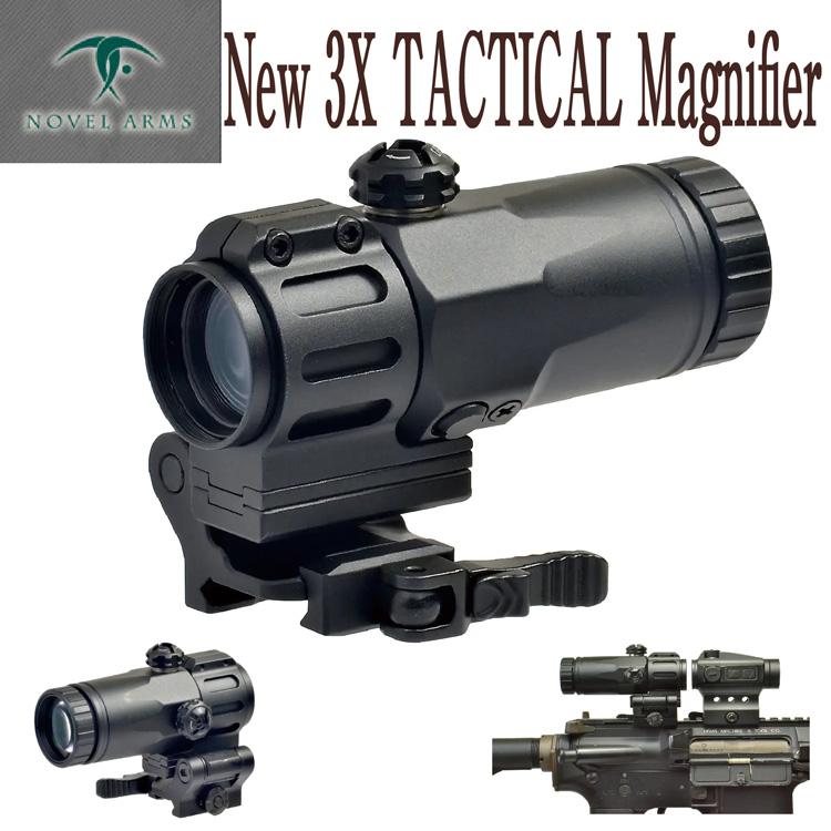あす楽対応 ノーベルアームズ 3X TacTICAL MAGNIFIRE サバイバルゲーム サバゲー 正規品 アメリカ警察特殊部隊 SWAT ノーベルアームズ