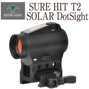 ノーベルアームズ SURE HIT T2 商い SOLAR DotSight スコープ スナイパー サバゲ 狙撃 サイト 狙う シューティング DOT SIGHT COMBAT エイムポイント リューポルド T1 aimpoint ダットサイト スワロフスキー EO AIM 定番の人気シリーズPOINT(ポイント)入荷 ARMS NOVEL TEC