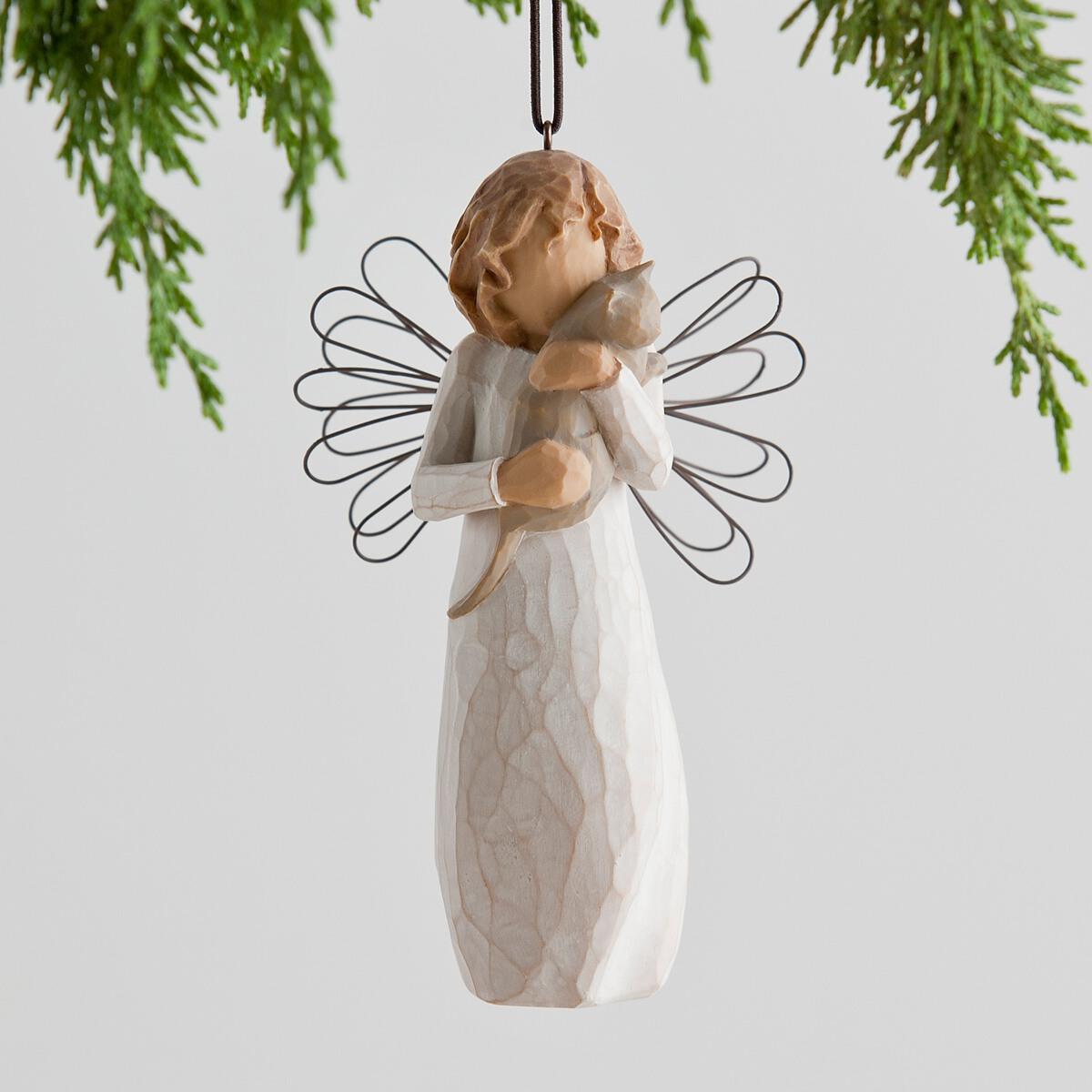 あなたと友達でよかった - まごころが伝わるやさしい贈り物です プレゼント ギフトに コレクションも 誕生日 ウィローツリーオーナメント 愛をこめて 猫 Tree 大人向け インテリア雑貨 豪華な おしゃれな置物 新品未使用 人形 With 正規輸入品 affection フィギュア Willow