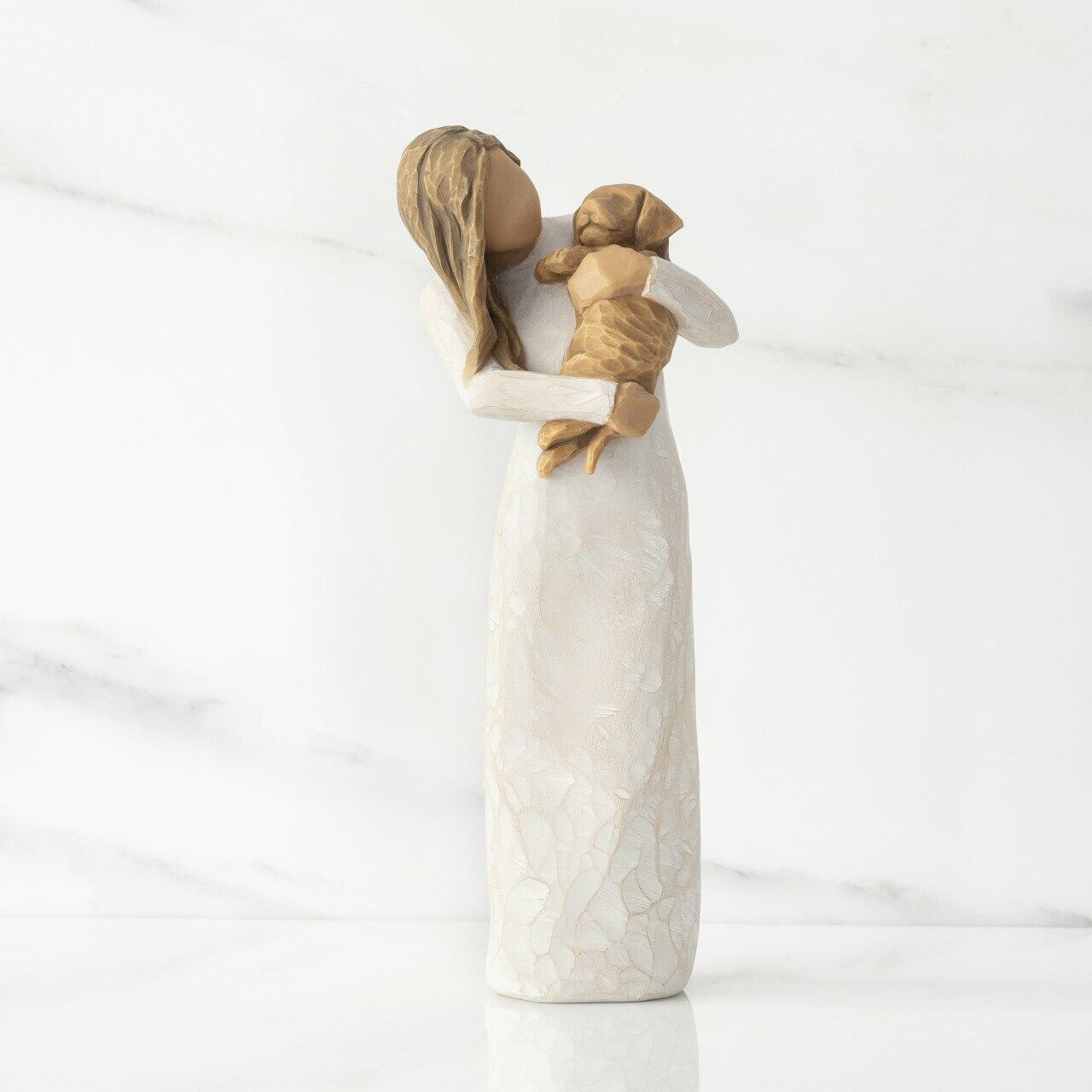 身体いっぱいに受け止めて - プレゼント ギフトに 驚きの値段 休み コレクションも 誕生日 ウィローツリー彫像 WillowTree Golden You 愛しいあなた 正規輸入品 Adorable 19cm