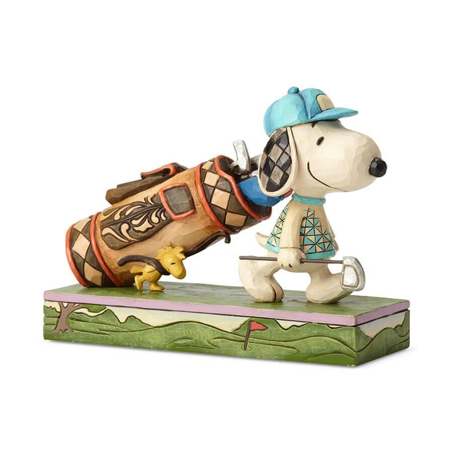 昨日から学ぼう。今日を生きよう。明日を見つめよう。 - プレゼント、ギフトに。コレクションも。 誕生日 クリスマス プレゼント ゴルフ スヌーピーとウッドストック 7.6cm | スヌーピー フィギュア 大人向け 人形 置物 ジムショア グッズ Golf Snoopy  Woodstock ジム・ショア ピーナッツ JIM SHOREJIM SHORE PEANUTS 正規輸入品