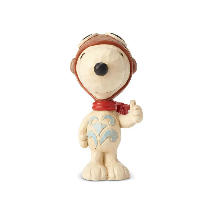 もし望めば犬だって飛べるんだ… - プレゼント、ギフトに。コレクションも。 誕生日 クリスマス プレゼント スヌーピー フライングエース ミニ 7.6cm | スヌーピー フィギュア 大人向け 人形 置物 ジムショア グッズ Snoopy Flying Ace Mini ジム・ショア ピーナッツ JIM SHOREJIM SHORE PEANUTS 正規輸入品