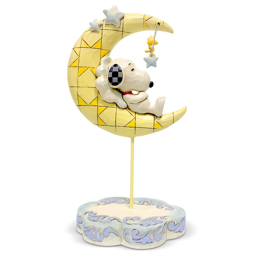 今日の計画? うん、まずはたくさん寝ようかな。 - プレゼント、ギフトに。コレクションも。 誕生日 クリスマス プレゼント スヌーピー ウッドストック 月でお昼寝 16.5cm   スヌーピー フィギュア 大人向け 人形 置物 ジムショア グッズ Snoopy Sleeping on Moon ジム・ショア ピーナッツ JIM SHOREJIM SHORE PEANUTS 正規輸入品