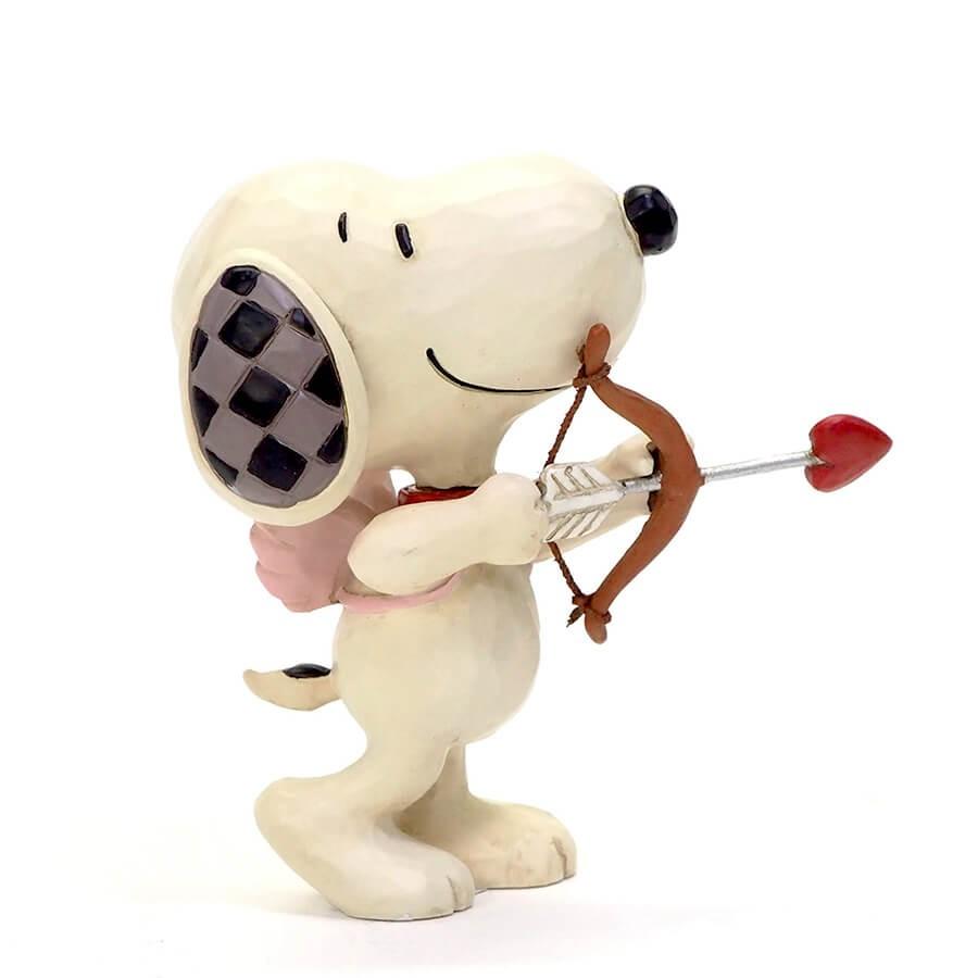 人間て恋に落ちるものなんだ、わかる? - プレゼント、ギフトに。コレクションも。 誕生日 クリスマス プレゼント スヌーピー キューピッド ミニ 7.6cm | スヌーピー フィギュア 大人向け 人形 置物 ジムショア グッズ Snoopy Mini Love ジム・ショア ピーナッツ JIM SHOREJIM SHORE PEANUTS 正規輸入品