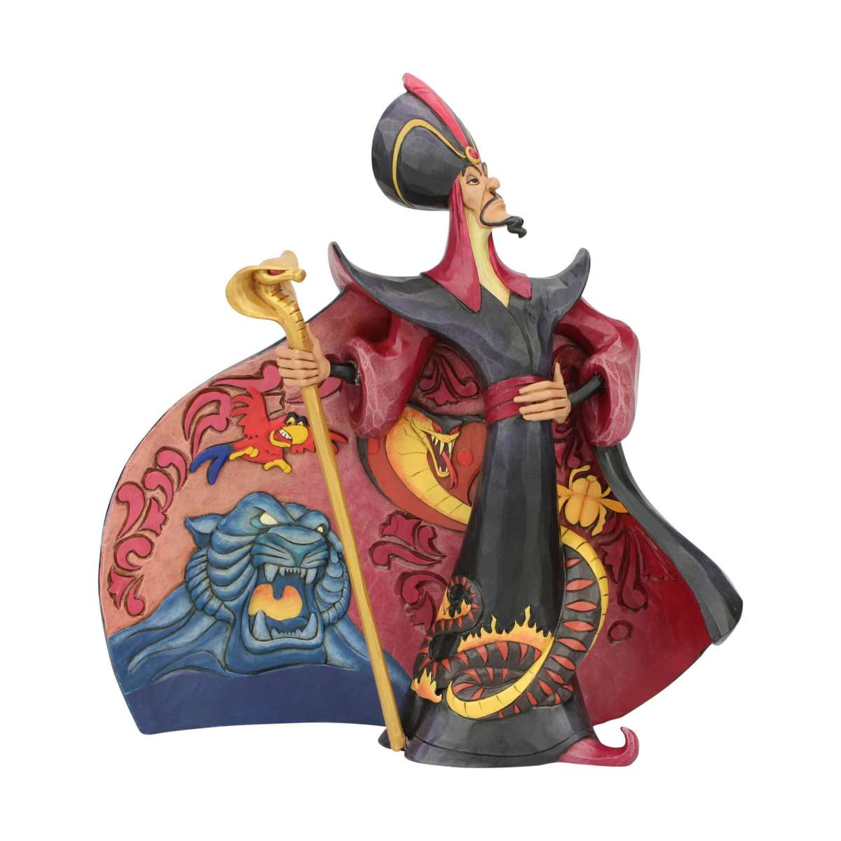 スーパーSALE クリスマス プレゼント ジャファー アラジン 22.9cm | ディズニー フィギュア 大人向け 人形 置物 ジムショア グッズ Jafar from Aladdin ジム・ショア ディズニー トラディションズ JIM SHOREJIM SHORE DISNEY TRADITIONS 正規輸入品