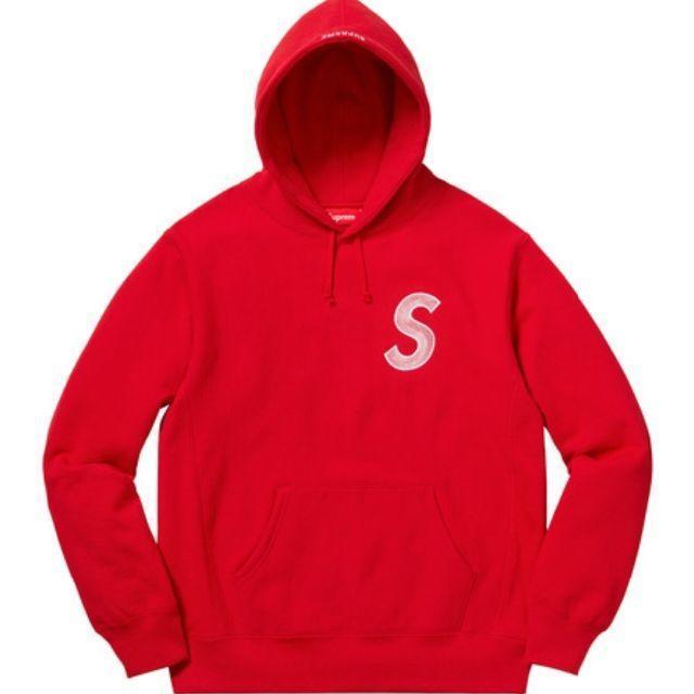 【Supreme】シュプリーム 国内正規 S Logo Hooded Sweat Shirt 新品 パーカー Sロゴ レッド Sサイズ 2018AW