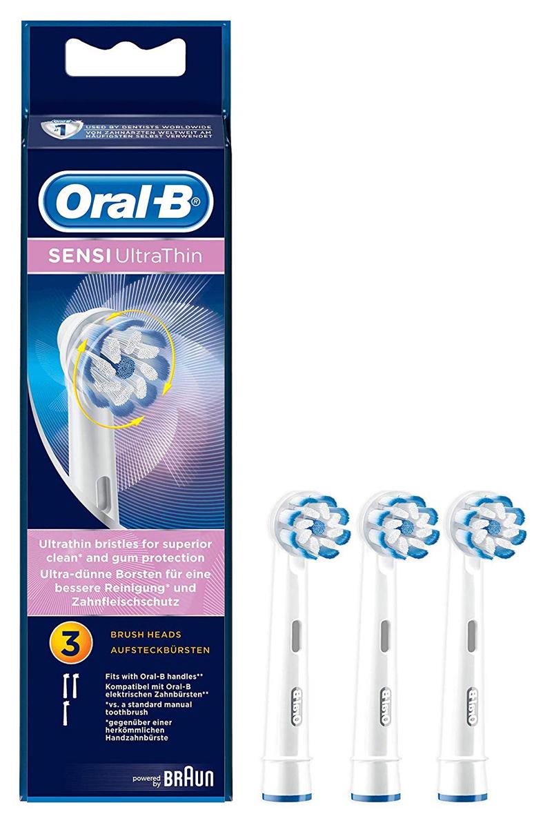 ブラウン やわらか極細毛ブラシ【3本入】BRAUN Oral-B(オーラルB) EB60-3-ELN