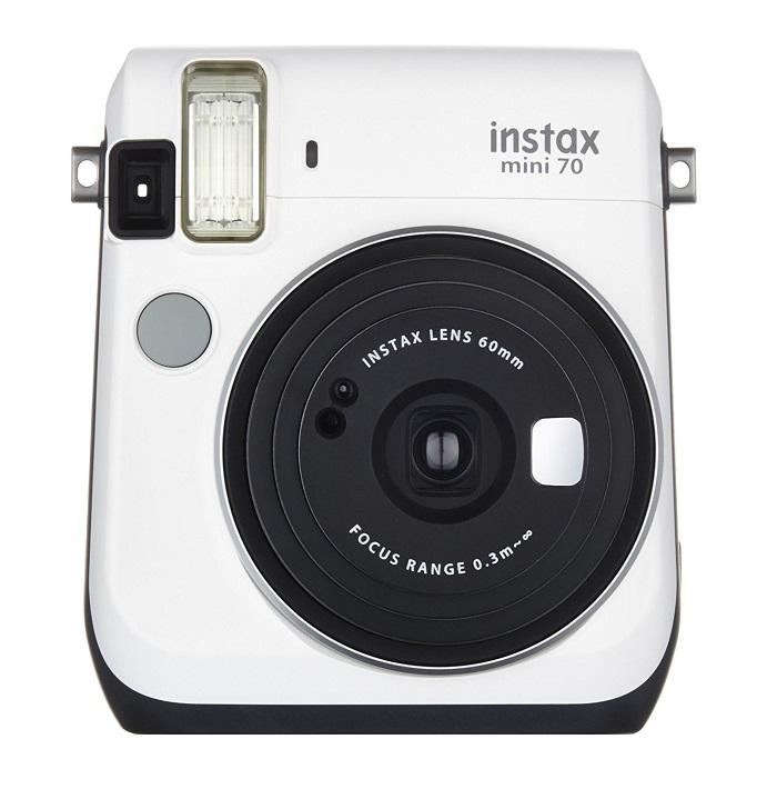 5117 FUJIFILM インスタントカメラ チェキ instax mini 70N ホワイト INS MINI 70N WHITE