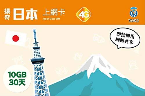 日本4G通信 30日間 SIMカード