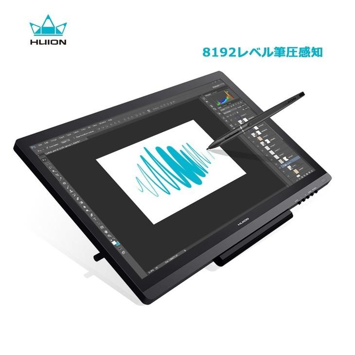 5054 HUION Kamvas GT-191 液タブ 液晶タブレット IPS液晶 フルHD 19.5インチ pen tablet フイオン