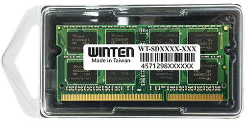 0577 WT-SD1333-2GB  ノートPC用SODIMM  DDR3 1333(PC3-10600) 2GB