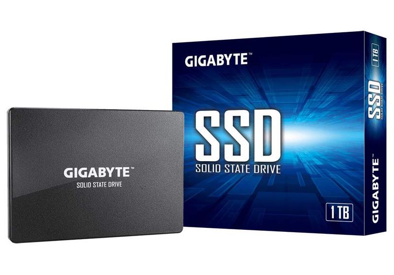 5371【ネコポス送料込】ギガバイト GIGABYTE SSD 1TB NAND フラッシュ SATA III 2.5インチ 内蔵ソリッドステートドライブ