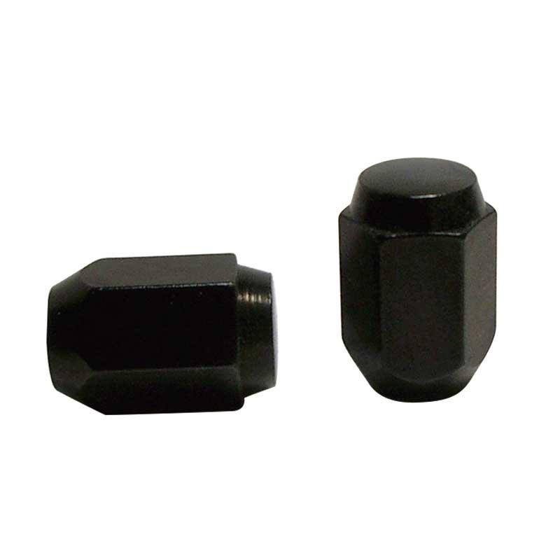 袋ナット 黒色 M12×P1 25-21H 31mm (100個入)