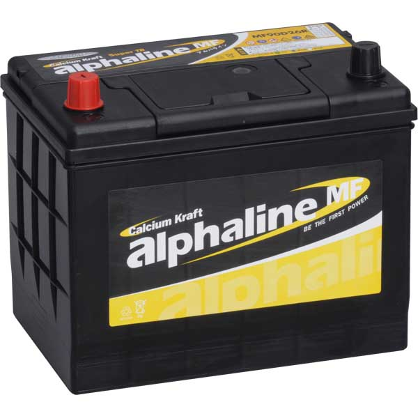 Alphaline バッテリー 90D26L