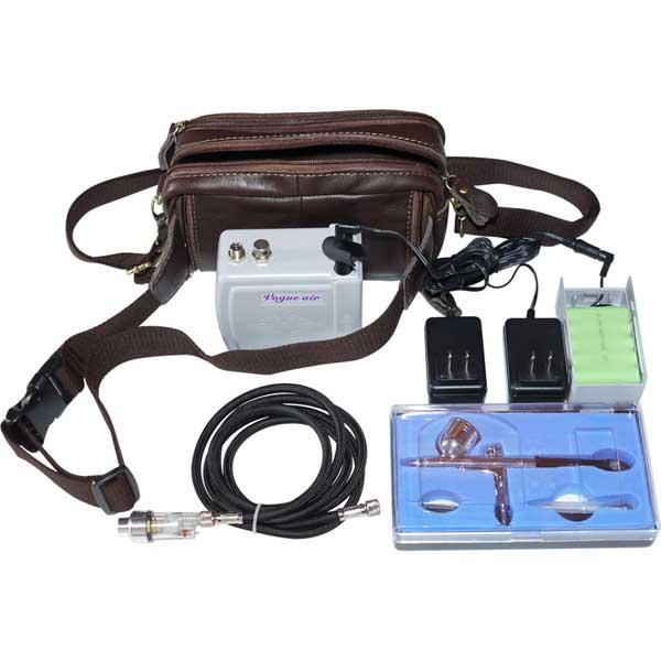 充電式エアブラシコンプレッサセットTR175BK