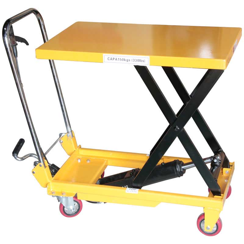 折りたたみ式リフトテーブル150kg DL151