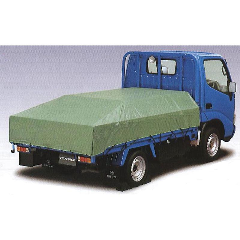 エステル帆布 トラックシート 3Mx5.1M ハトメピッチ450mm シートゴム付