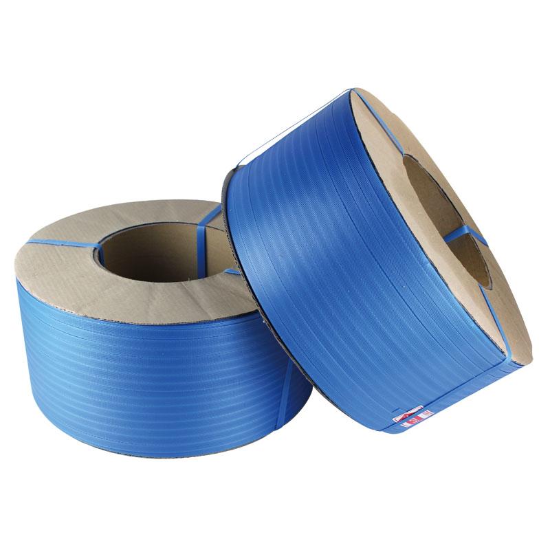 PPバンド機械用 15.5mm×2500m 2巻入 青色