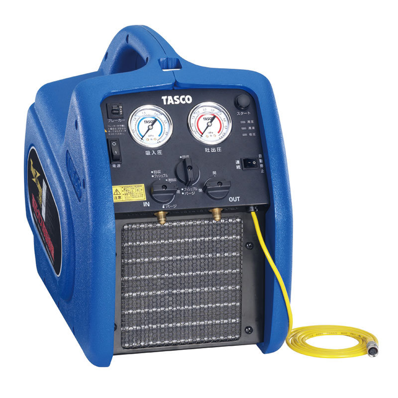 タスコ 冷媒回収機ツインサンダー220TA110X