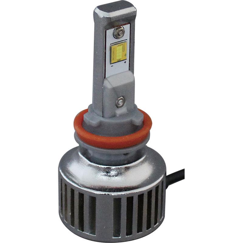 LEDヘッドライト H8/H9/H11 6000K 3800Lm (2個入り)