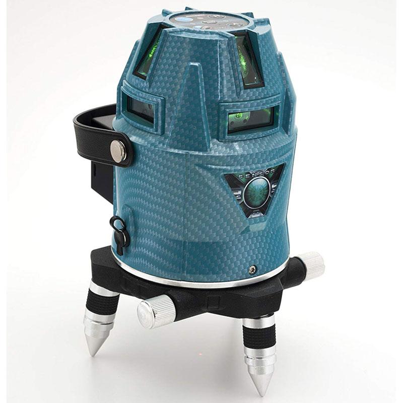 【山真製鋸】アクアグリーンレーザー 超高光度フルライン&ドット照射 LDR-9S-W フルセット