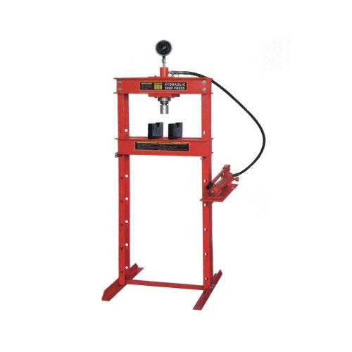 12ton油圧プレス メーター付 赤
