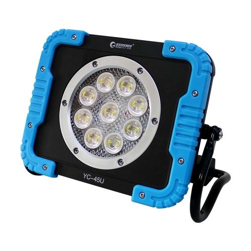 充電式LED 45W 4500LM 耐衝撃性 スライドハンドル