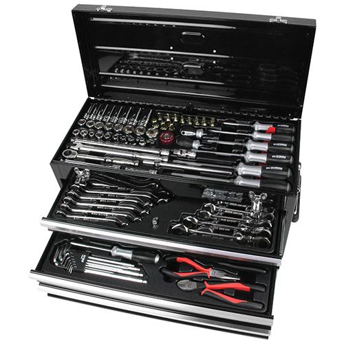 【SK11】整備工具セット ブラック SST-16133BK