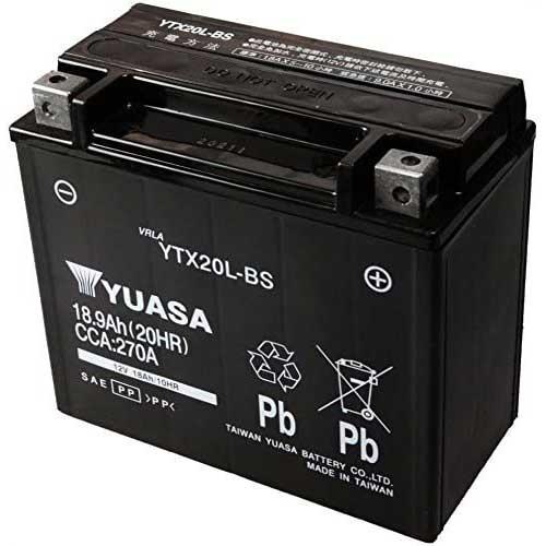 【台湾ユアサ】バイク用バッテリーYTX20L-BS