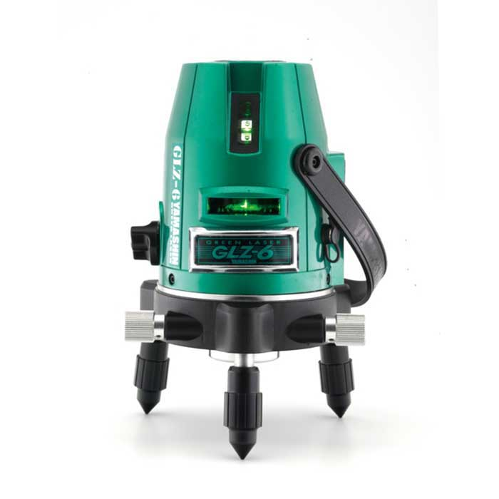 【山真製鋸】グリーンレーザー墨出し器 型式:GLZ-6-W